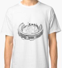 Shea Stadium - New York Jets/Mets Stadium Sketch Classic T-Shirt