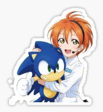 Rin Hoshizora SEGA Sonic the Hedgehog Sticker