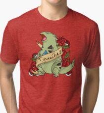 Tyranatar tattoo Tri-blend T-Shirt