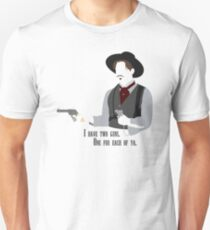 Tombstone: Two Guns Unisex T-Shirt