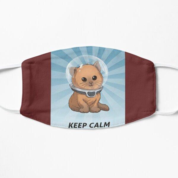 keep calm kitty, keep calm, subnautica, calm, gassik, vvzz Flat Mask