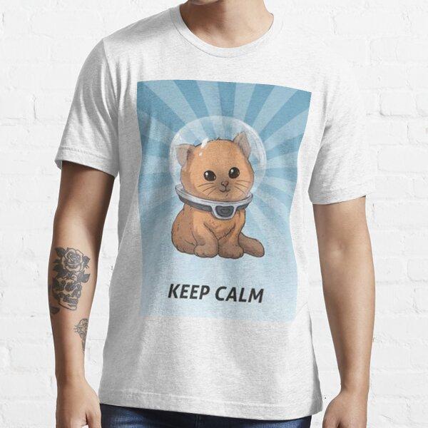 keep calm kitty, keep calm, subnautica, calm, gassik, vvzz Essential T-Shirt