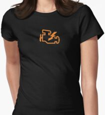 Check Engine - Hot Rod Edition Womens Fitted T-Shirt