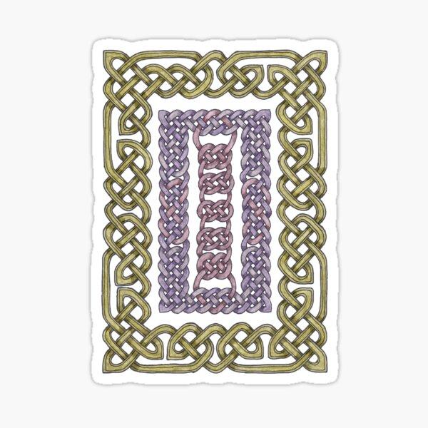 Celtic Frames Sticker