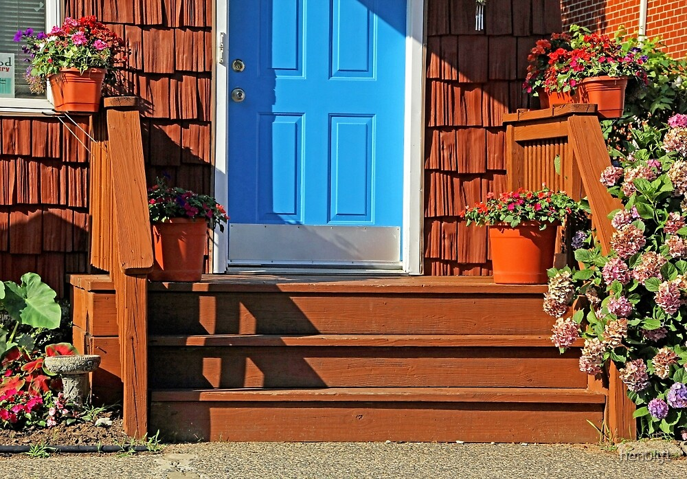 Blue and  Red entrance by henuly1