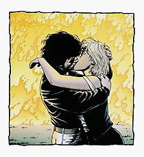 Tulip and Jesse from Preacher in fire Photographic Print