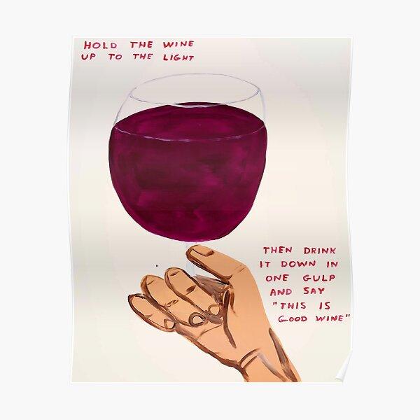 Das ist guter Wein Poster