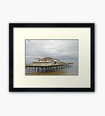 Colwyn Bay pier.  Framed Print