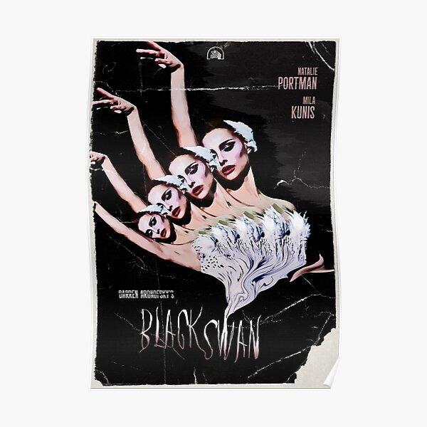 """""""Black Swan"""" Vintage Movie Poster Poster"""