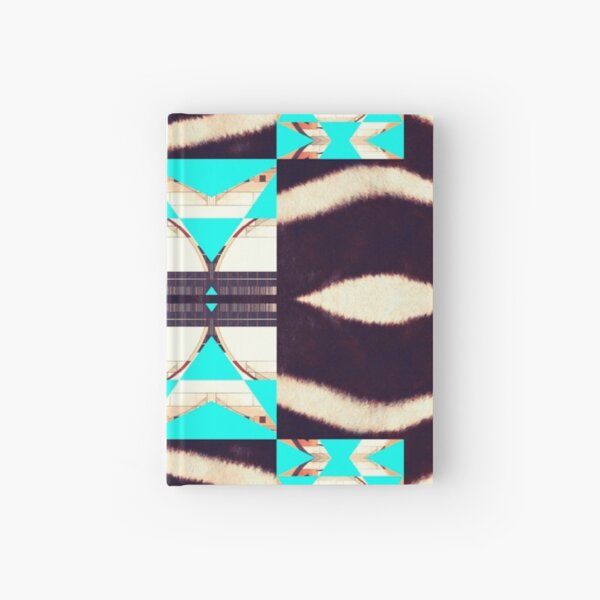Zebra Changing Stripes Hardcover Journal