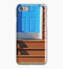 Blue and  Red entrance iPhone Case/Skin