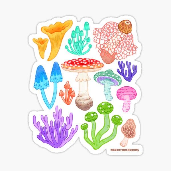 Mushroom Melange Sticker