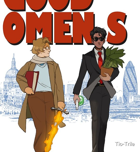 Good Omens - the Professional by Tio-Trile