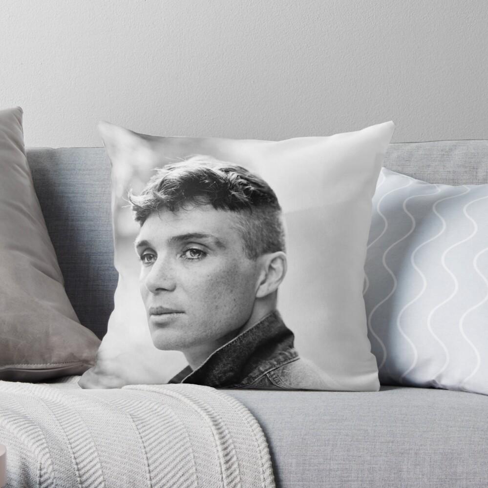 Cillian Murphy Throw Pillow