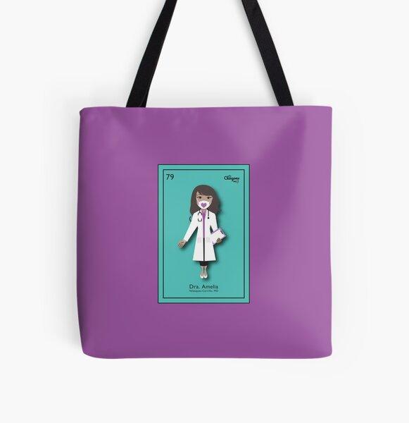 Amelia All Over Print Tote Bag