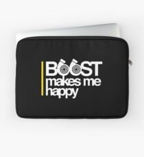 Boost Makes Me Happy Laptop Sleeve