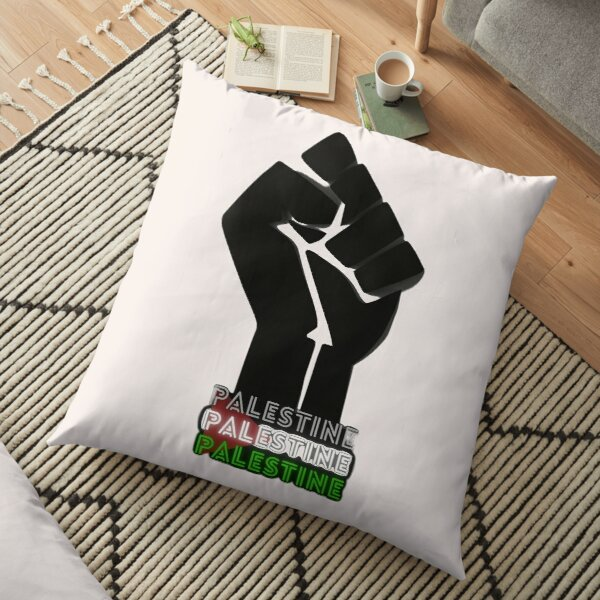 Free Palestine Floor Pillow