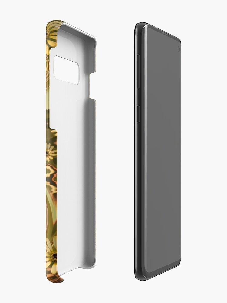Alternate view of Mellow Yellow Daisys Boho hippie design Case & Skin for Samsung Galaxy