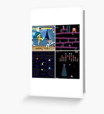 Arcade games Greeting Card