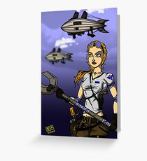 Across the Sky Greeting Card