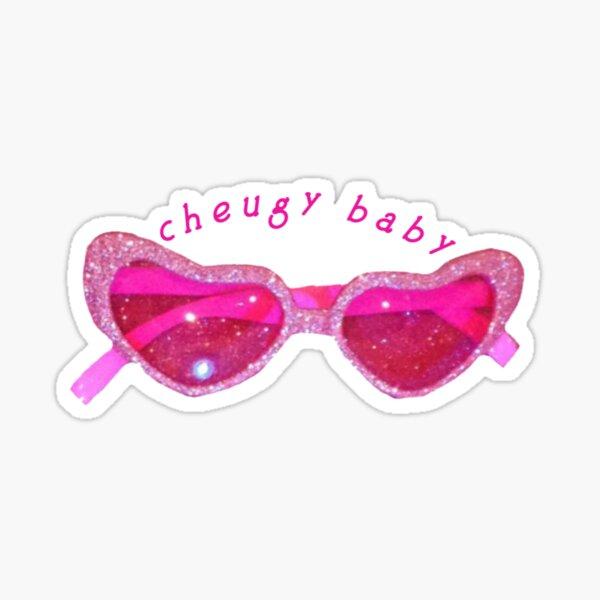 cheugy baby  Sticker
