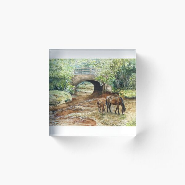Wootton Bridge Acrylic Block
