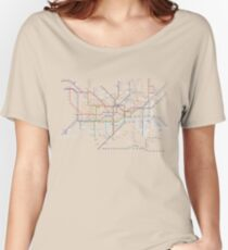 London subway 2016 Women's Relaxed Fit T-Shirt