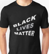 #BlackLivesMatter Curvy 70's-esque Graphic Statement  Unisex T-Shirt