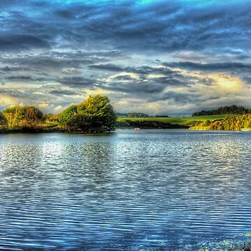 Peaceful Lake by chaisetaylor