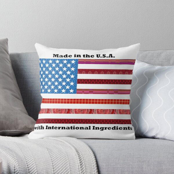 Made in the USA Throw Pillow
