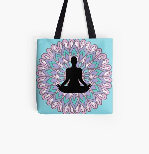 Buddha Mandala All Over Print Tote Bag