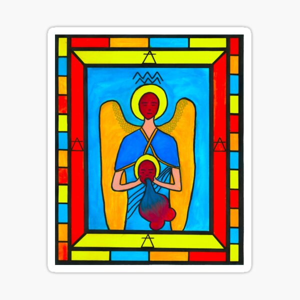 Grail Series - Aquarius Sticker