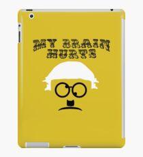 """My Brain Hurts!"" iPad Case/Skin"
