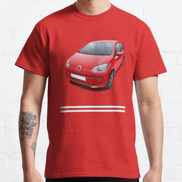 German City Car - Red Classic T-Shirt