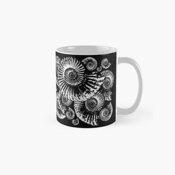 Fossil Ammonite Classic Mug