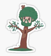 A Happy Little Bob Ross Sticker
