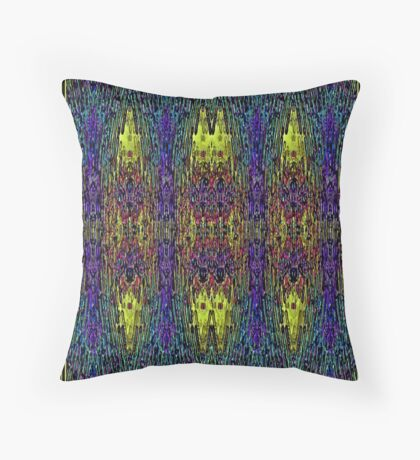 WET PAINT-SHOWERS OF COLOUR Throw Pillow