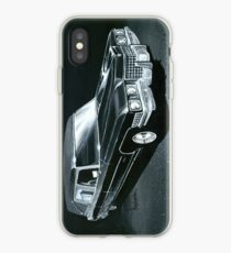 1971 Cadillac Hearse iPhone Case