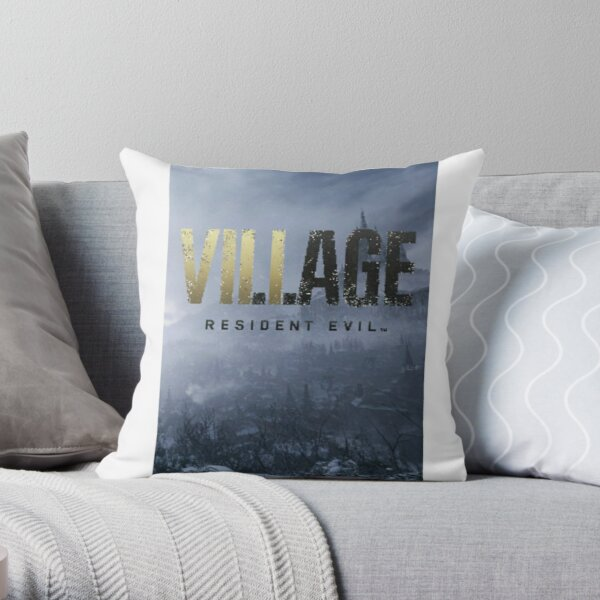 Resident Evil Village Throw Pillow
