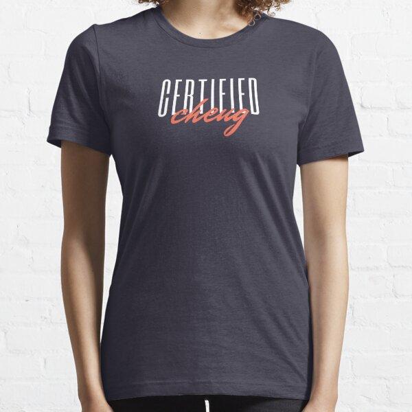 Chertified Cheug - Funny Cheugy Design Essential T-Shirt