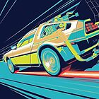 DeLorean- Back to the Future by Exide