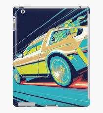 DeLorean- Back to the Future iPad Case/Skin