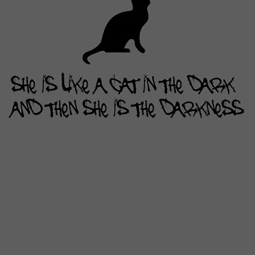 She is the darkness by beforethedawn