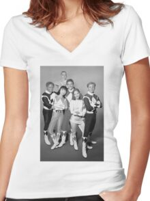 The Original 6 Women's Fitted V-Neck T-Shirt