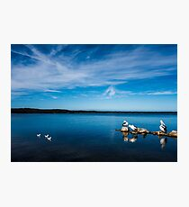 Quiet moment on St Georges Basin Photographic Print