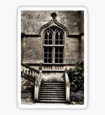 Stairs & Window Sticker