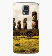Easter Island Moai Statues Case/Skin for Samsung Galaxy