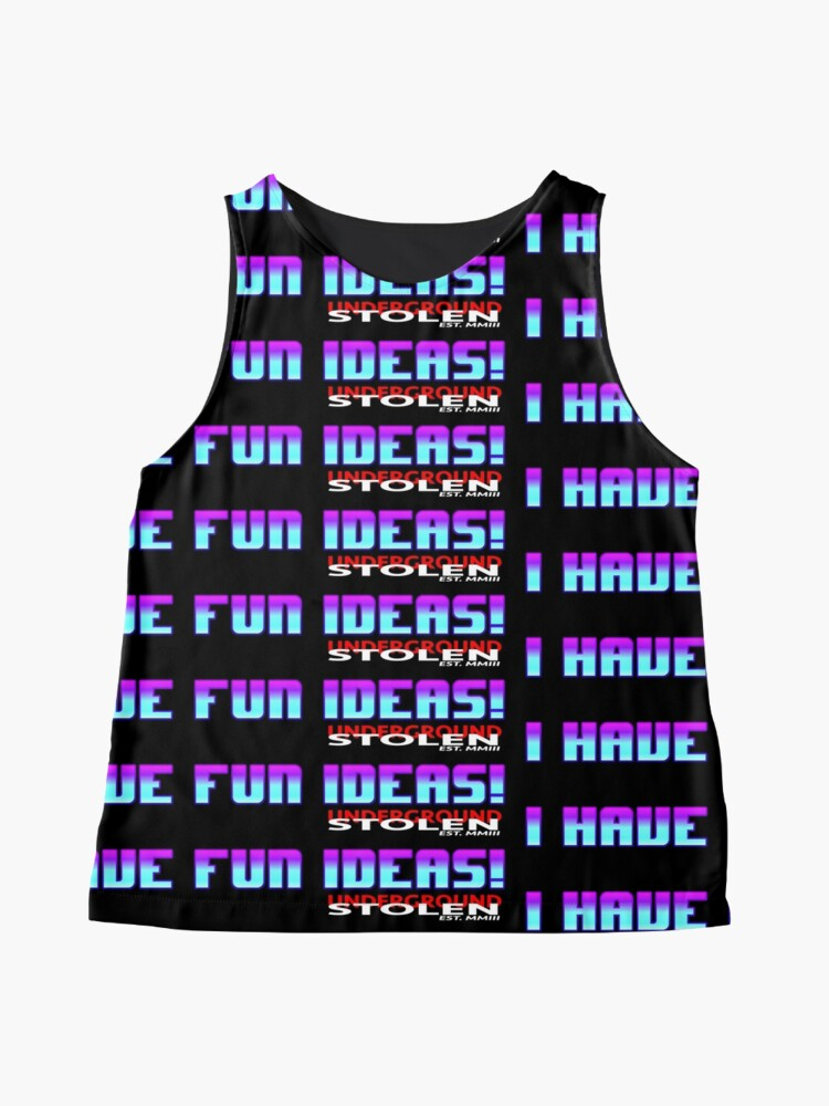 Alternate view of I have fun ideas! Sleeveless Top