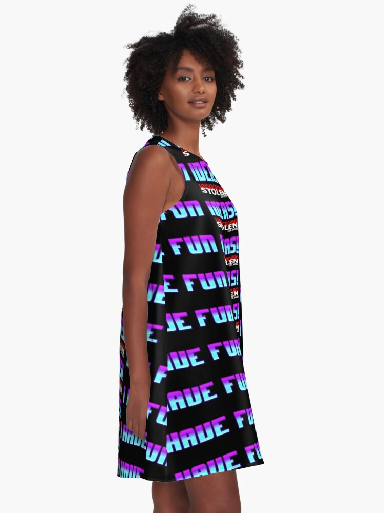 Alternate view of I have fun ideas! A-Line Dress