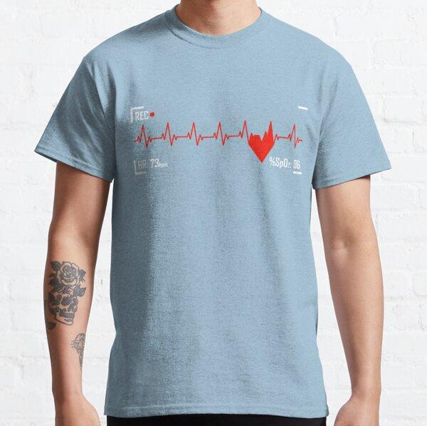 Heart Rate Monitor - Pulse - Heartbeat Classic T-Shirt